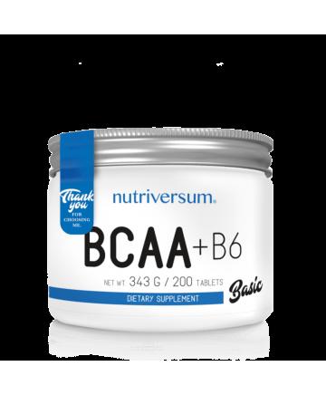 BCAA + B6 200 TABLETAS